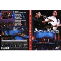 Dvd Bruno E Marrone - Ao Vivo