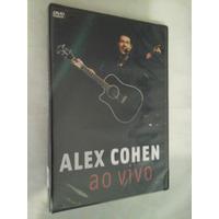 Dvd Alex Cohen Ao Vivo Lacrado Frete Grátis Único No M.l.