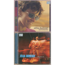 2 Cds Zelia Duncan - Sortimento / Vivo ( Frete Gratis )