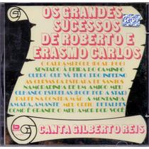 Cd Os Grandes Sucessos De Roberto E Erasmo Carlos - Novo***