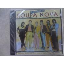 Cd - Roupa Nova - O Melhor De Roupa Nova - Original E Lacrad