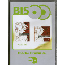 Dvd + Cd Charlie Brown Jr - Acústivo Mtv ( Bis ) - Novo***