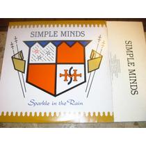 Lp Simple Minds - Sparkle In The Rain (1984) C/ Encarte