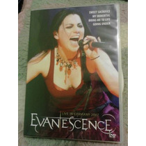 Dvd Evanescence - Live In Germany 2007 - 59 Minutos