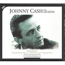Johnny Cash - The Legend - Box Com 3 Cd`s - Importado - Novo