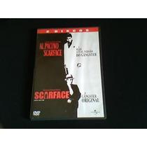 Dvd Scarface E Scarface O Gângster (duplo 2 Filmes)