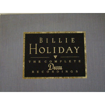 Cd - Billie Holiday-box- The Complete Recordings - Decca