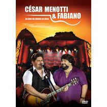 Dvd César Menotti & Fabiano Ao Vivo No Morro Da Urca Lacrado