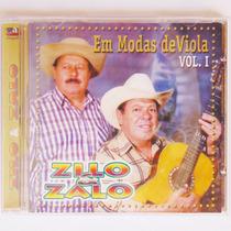 Cd Sertanejo Zilo E Zalo Só Moda De Viola Música Flor Do Ipê