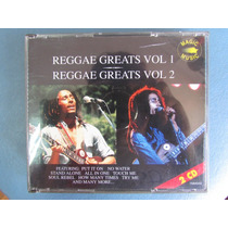 Cd De Musica Reggae Greats Vol 1/2 Duplo Impor. Usado