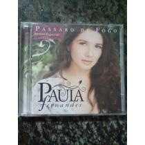 Cd - Paula Fernandes - Pássaro De Fogo