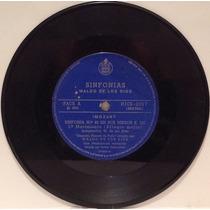 Compacto Vinil Waldo De Los Rios - Sinfonias - Mozart - Brah