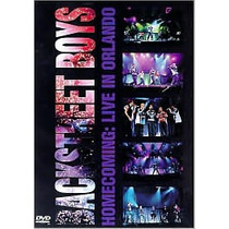 Dvd Backstreet Boys Homecoming Live In Orlando [eua] Novo