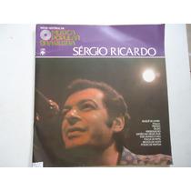 Disco Vinil Música Popular Brasileira Sérgio Ricardo