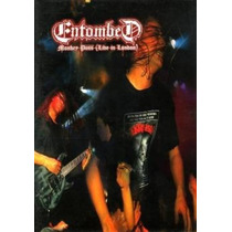 Dvd-entombed Monkey Puss-live In London-1992-lacrado