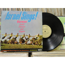 Karmon Israeli Dancers And Singers Israel Sings - Lp 1970
