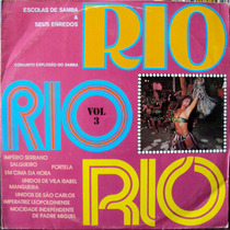 Lp Vinil - Rio - Escolas De Sambas E Seus Enredos - Vol.3