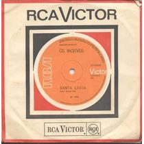 Incríveis - Compacto De Vinil Santa Lucia 1969 Mono