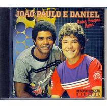 Cd João Paulo E Daniel - Amor Sempre Amor - 1995