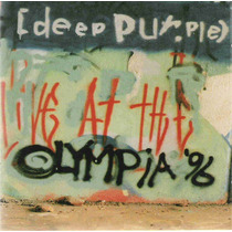 Deep Purple Live Olympia 96 1997 2cd(holland)(nm/ex-)import*