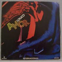 Lp Novela Louco Amor - Internacional - Som Livre - 1983