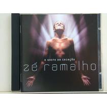 Cd - Zé Ramalho - O Gosto Da Criação (promo)