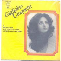 Disco Compacto De Vinil - Gigliola Cinquetti - 1974