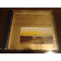 Cd Mozart - Coleção Classic Masters / Frete Gratis