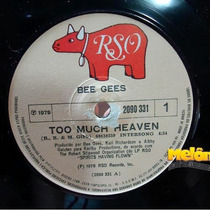 Bee Gees 1979 Too Much Heaven Rest Your Love On Me Compacto