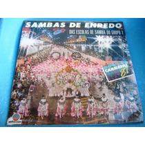 Lp Zerado Sambas Enredo Escolas Grupo 1 Sao Paulo 87 Encarte