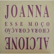 Alcione / Joanna Maxi Single Vinil Promo Chora Coração 1993