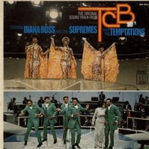 Lp - Diana Ross & The Supremes With Temptations - Soundtrack