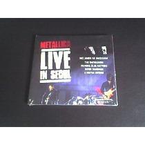 Cd Metallica Live In Seoul (original) Capa Digipack