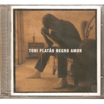 Cd Toni Platão - Negro Amor - Novo***