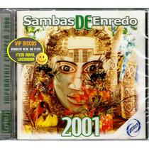 Cd Sambas De Enredo 2001 Rio De Janeiro - Raro