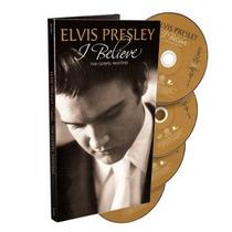 Elvis Presley Maravilhoso Box Gospel *com 4 Cds I Believe*!!
