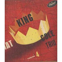 Nat King Cole Trio Lp 10 Polegadas Volume 4