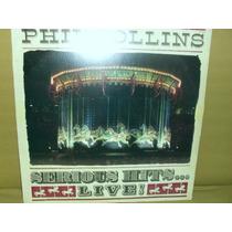 Lp - Phil Collins Serious Hits Live Duplo 2 Lp´s