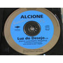 Cd Single Alcione - Luz Do Desejo 1997 Promocional