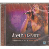 Cd Aretha Marcos Part Fagner Novo Raro Frete Gratis Cod 175