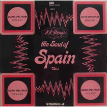 101 Strings Lp Soul Of Spain Vol. 3 1972 Stereo