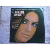 Gigliola Cinquetti-lp-vinil-1º Premio-canzonissima - 1974