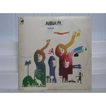 Abba - The Album - Lp Importado 1977 Disco Mate C/ Encarte