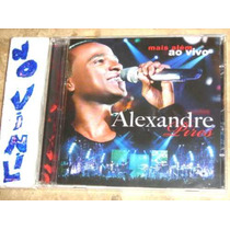 Cd Alexandre Pires - Mais Alem Vivo (10)ex So Pra Contrariar