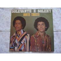Solevante E Soleny-lp-vinil-noite Triste-mpb