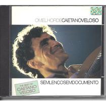 Cd Caetano Veloso - Sem Lenço E Sem Documento
