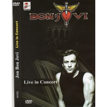 Bon Jovi - Live In Concert Dvd Original Lacrado Novo Veja !!