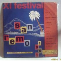 Lp Xi Festival San Remo 1961 Mocambo