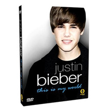 Justin Bieber - This Is My World -dvd Original Novo Lacrado