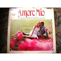 Vinil Amore Mio 14 Sucessos Originais Da Música Italiana